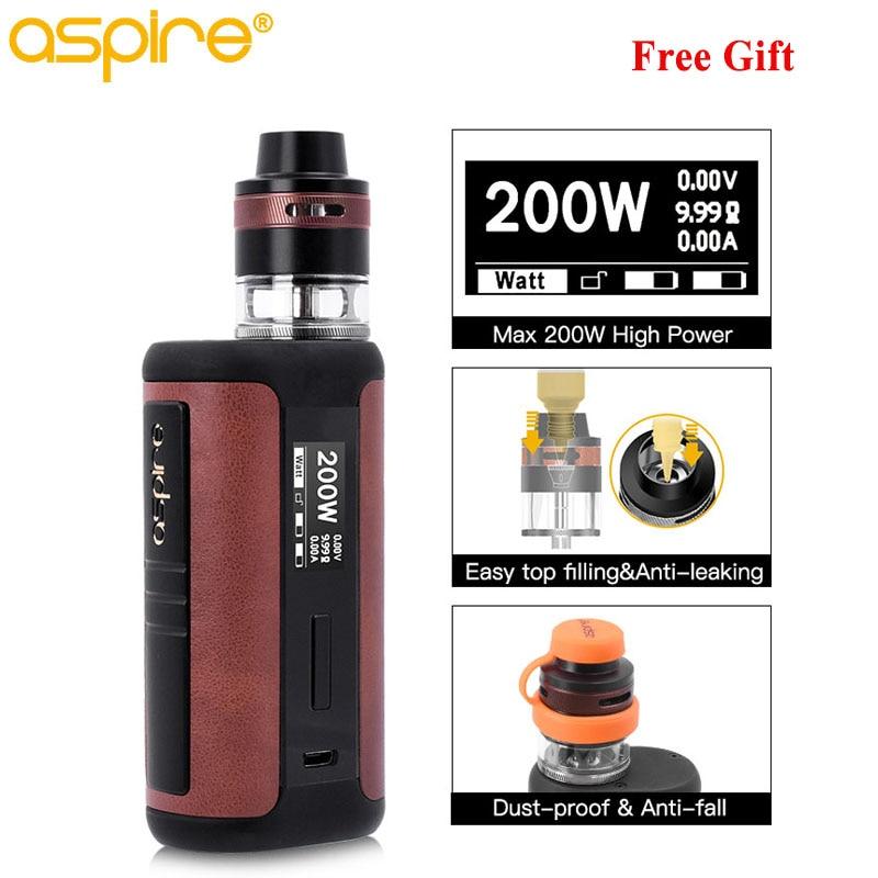 Electronic Cigarette Kit Aspire Speeder Revvo Vape 3 6ml Tank Atomizer fit ARC 0 10 0
