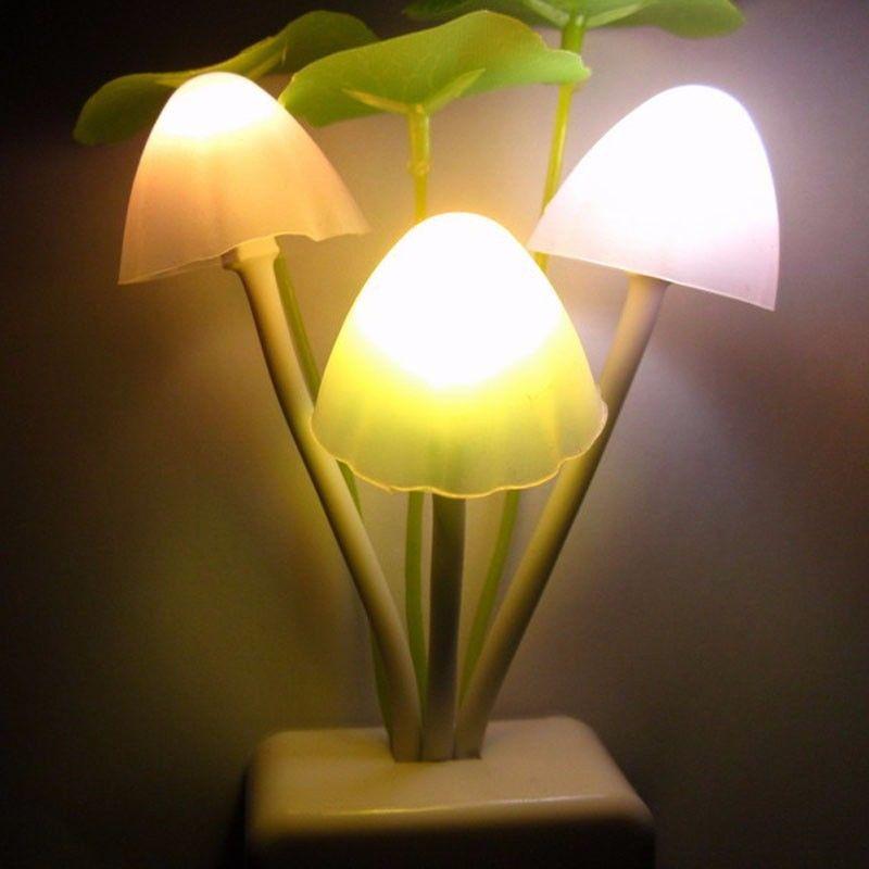 Luzes da Noite parede cogumelo sensor de luz Modelo Número : Night Light 03-01