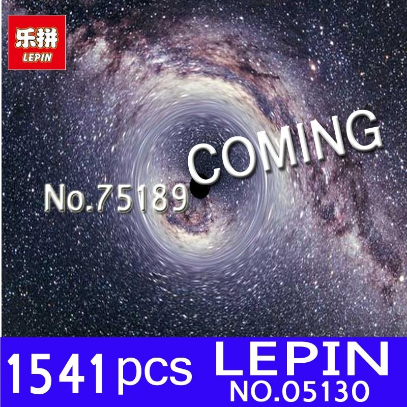 Lepin 05130 Genuine 1541Pcs Star Plan Series The First Order Heavy Assault Walker Set 75189 Building Blocks Bricks Children Toys