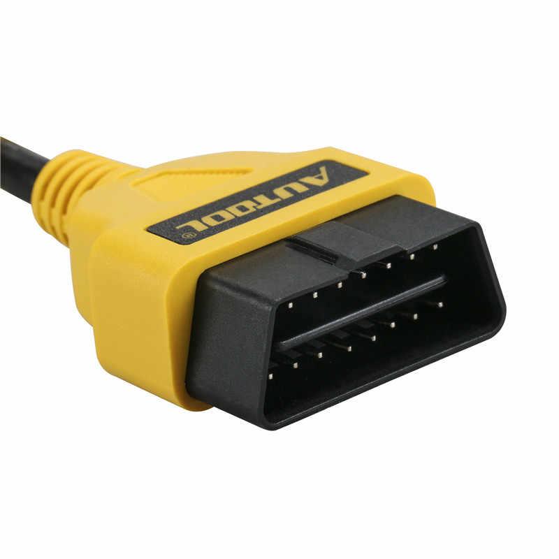 AUTOOL OBD2 rallonge OBD adaptateur rallonge Obdii connecteur pour lancement IDIAG Easydiag Pro Pro3 V + GOLO Mdiag ELM327 AL519