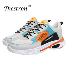 цена на Ifrich 2019 Men Sport Running Shoes Spring Autumn Breathable Men Sneakers Cushioning Athletic Shoes Walking Jogging Sneakers