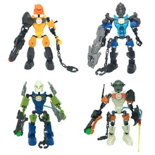 Bionicle Series 6221 NEX 6217 SURGE 6282 STRINGER 6200 EVO Building Block Children Toys Christmas Gifts