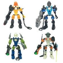 Bionicle Series 6221 NEX 6217 SURGE 6282 STRINGER 6200 EVO Building Block Children Toys Christmas Gifts все цены