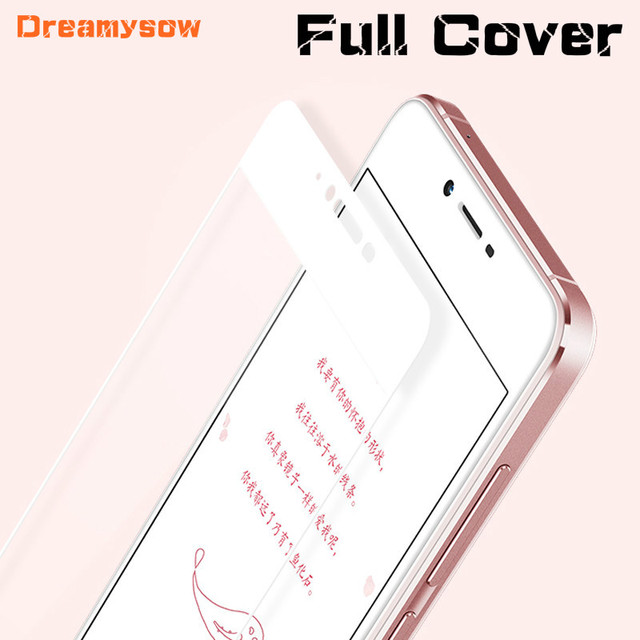9H Color Full Cover Tempered Glass For Meizu 15 M5S M5C M8C M5 M6 Note Pro 6 7 Plus Screen Protector Film on M3S Toughened case