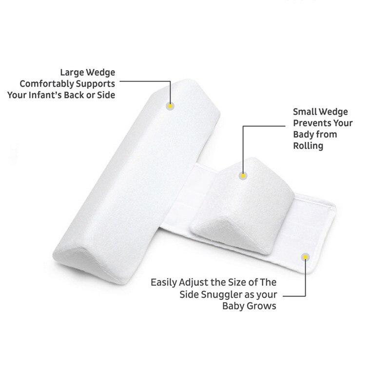 High-quality-pillow-Newborn-Baby-Infant-Sleep-Positioner-Prevent-Flat-Head-Shape-Anti-Roll-Pillow-2018(2)