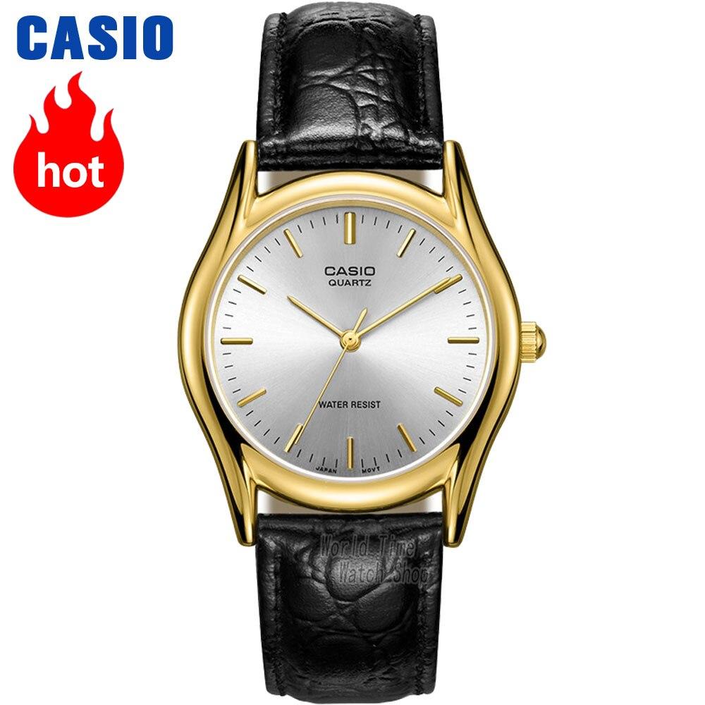 Casio montre Analogique Hommes de Quartz Montre Minimaliste et Confortable Étanche Pointeur Montre MTP-1094