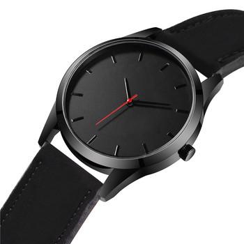 Reloj 2018 Fashion Large Dial Military Quartz Men Watch Leather Sport watches High Quality Clock Wristwatch Relogio Masculino T3