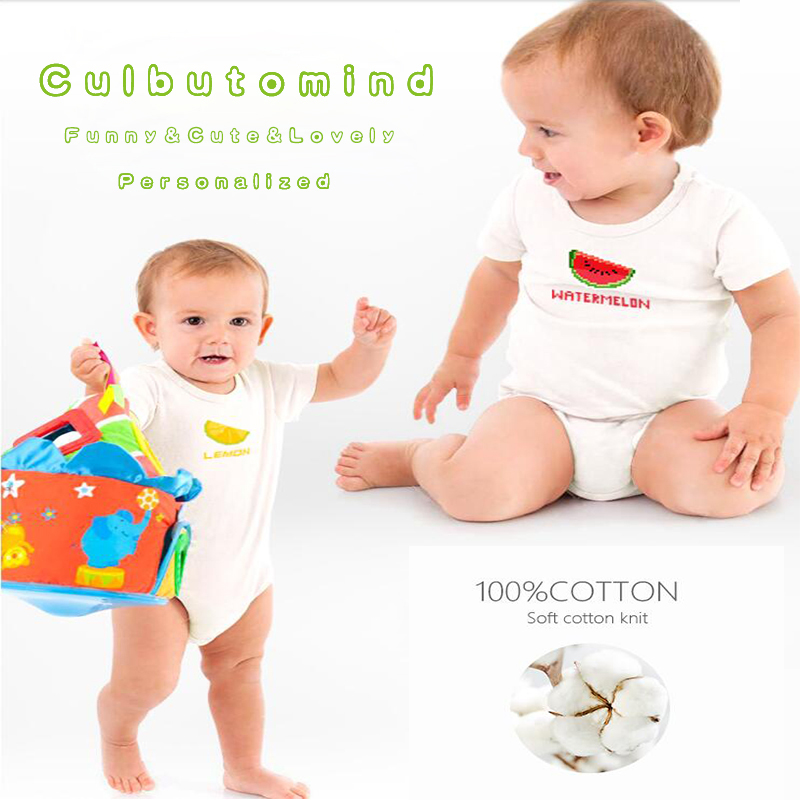 2840103b3 Culbutomind Twin Baby Clothing Boys Girls Twins Outfit Set Moms Little Man  Moms Little Lady New born Summer Clothes