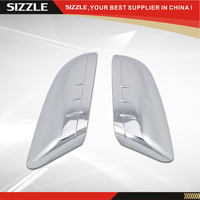 2012 2013 2014 For Ford Edge for LINCOLN MKX Plastic Triple Chrome Plated ABS Top Half Mirror Cover