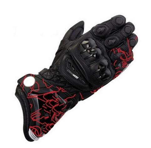 New 3 color 100 leather gloves GP PRO motorcycle long racing driving gloves MOTO GP racing