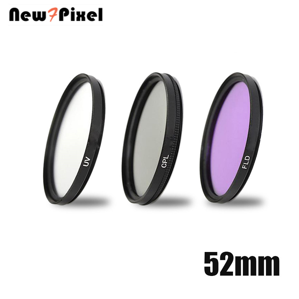 52mm UV FLD CPL polarizzatore Circolare Lens Filter kit for Nikon Sony Canon M M1 M2 <font><b>M3</b></font> M5 M6 M10 EF-M 55-200mm 18-<font><b>55mm</b></font> Lens image