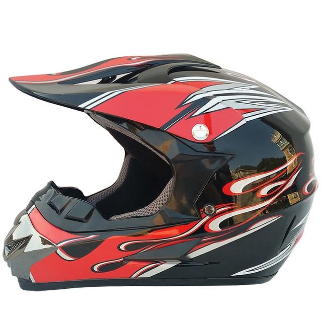 Motocross Helmet Brand Cross Helmet Motorcycle Atv Mtb Downhill Helmet Moto Helmet With Visor Gost Metal Black Dot