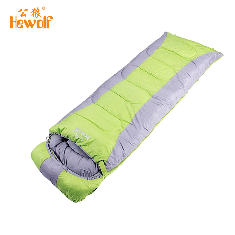 (Shipping From Russia)Hewolf Outdoor Single Ultralight Portable Envelope Camping Sleeping Bag Spring Autumn Winter Splicing Bed hewolf outdoor sleeping bag envelope thick warm autumn and winter camping adult sleeping bag ultralight duvet