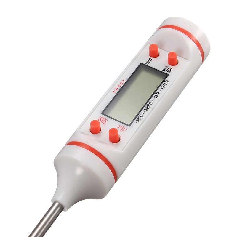 1 قطعة ميزان الحرارة القلم نمط الغذاء الرقمي المطبخ BBQ مقياس الحرارة أدوات الطبخ المنزلية-50C-300C/-58F-572F