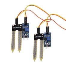 2 шт., датчик почвы, гигрометр, датчик влажности, модуль датчика 65*20*8 мм для формы, оборудование для сигнализации влажности почвы