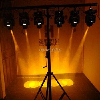 60 W LED 7 Gobos Hareketli Kafa Sahne Etkisi Işık 11 Kanal DMX512 DJ Kulübü Gösterisi Için Disko Parti Bar 2 Adet/grup
