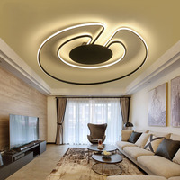 After The Creative Personality Bedroom Ceiling Lamp Modern Romantic Minimalist Living Room Lights Led Ceiling Lamps