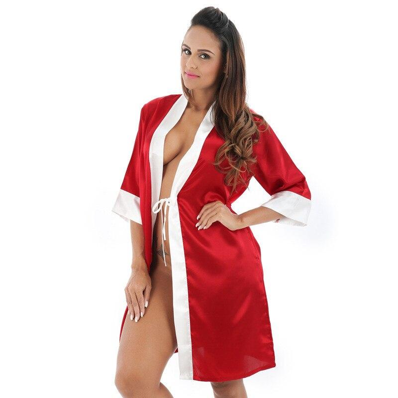 2017 New Style Wedding Bride Bridesmaid Robe Solid Bathrobe Short ...