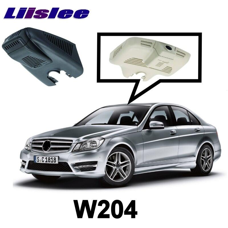 LiisLee Car Road Record WiFi DVR Dash Camera Driving Video Recorder For Mercedes Benz C Class MB W204 2007~2015
