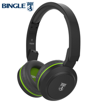 Bingle FB200 New Arrival Lightweight Portable Stereo PC MP3 Smart Wired Wireless Blue Tooth Headphones Folding Handsfree Headset