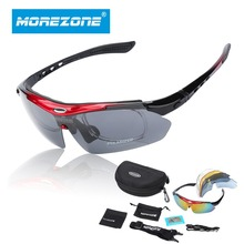 Polarized Cycling Sun Glasses Outdoor Sports Bicycle Glasses Bike Sunglasses TR90 Goggles Eyewear 5 Lens