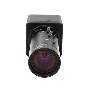 Image 2 - Global Shutter 120fps 720P Monochrome Schwarz Weiß CS Mount Vario 6 60mm Webcam UVC Stecker Spielen USB kamera mit Mini Fall