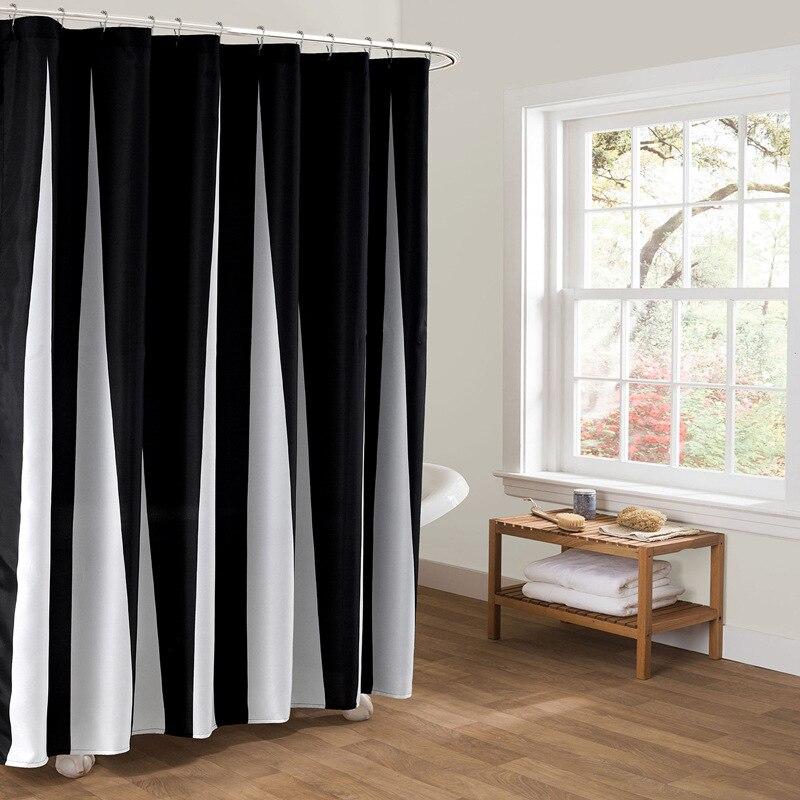 Best Solid Black Shower Curtain Photos - Bathroom with Bathtub ...