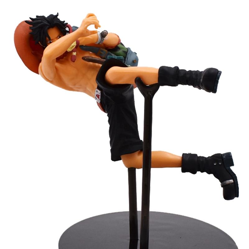15 centímetros Anime One Piece Zero Portgas D Ace PVC Action Figure Brinquedos Coleção de Figuras de Estilo Saco Shpping Livre