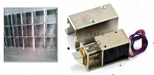 Image 4 - Elektromechanische Lock Micro deur operator Kleine elektrische sloten ladeblok elektronische sloten Automatische Toegangscontrole