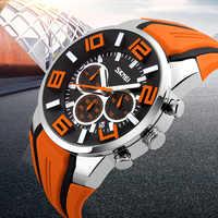 Uhren Männer Luxus Marke SKMEI Chronograph Männer Sport Uhren Wasserdicht Männlichen Uhr Quarz herren Uhr reloj hombre 2018