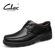 CLAX Mens Formal Shoe Spring Autumn Dress derbi Shoes Genuine Leather wedding shoe Male Adult social chaussure homme luxury