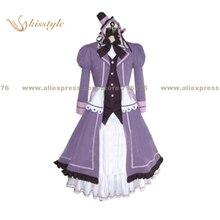 Kisstyle Fashion Jigokugata Ningen Doubutsuen Yokuatsu Sakuran Girl Uniform COS Clothing Cosplay Costume,Customized Accepted