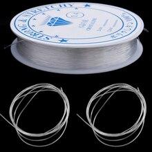 1PC Crystal Elastic Beading Line Cord Thread String Stretch Elastic Beading Cord Wire Thread For DIY Bracele Jewelry Accessories