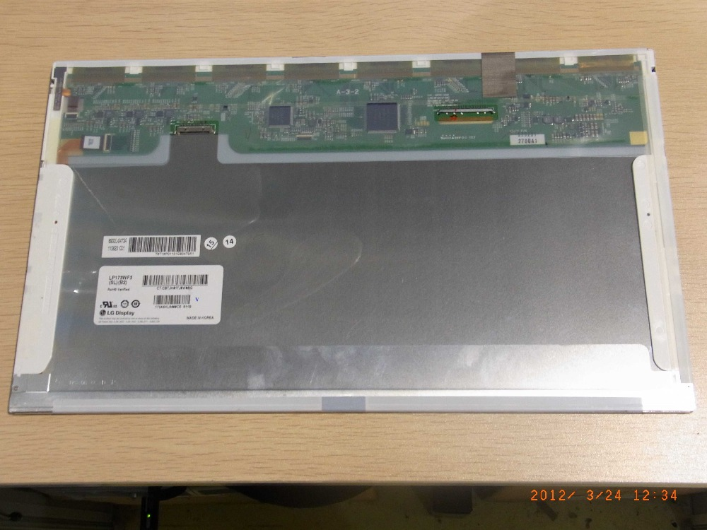 17.3 inch TFT LCD display LP173WF3-SLB4 LP173WF3 SLB4 LCD screen Original A+ Grade 6 months warranty