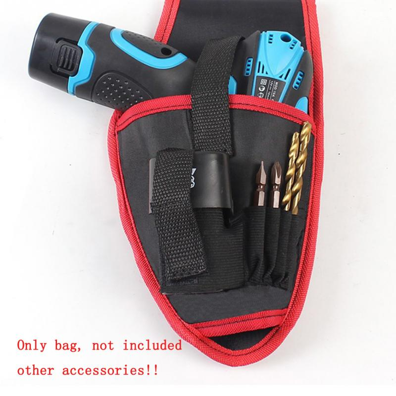 Tools Carry Pouch Portable Cordless Drill Holder Pocket Drill Cordless Screwdriver Waist Tool Bag