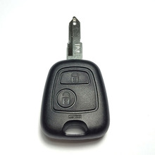 Auto Car Key 2 Button Car Replacement Key Shell Remote Key Case for Peugeot 106 206 Car Key Accessories 2019 New keyyou 2 buttons remote auto car key case shell key cover uucut blade for peugeot 106 206 306 406