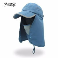 Outfly Hot Sale Simple Design Baseball Cap Detachable High Quality Tab Design Dual Use Hat Casual