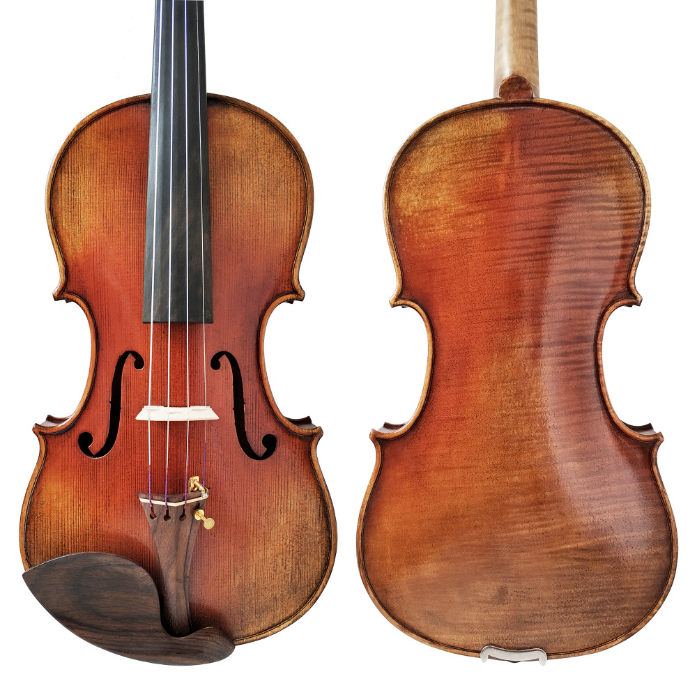 Free Shipping Copy stradivarius 1716 100% Handmade Oil Varnish Violin FPVN04 with Foam Case and Carbon Fiber Bow free shipping copy stradivarius 1716 100