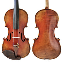 Free Shipping Copy stradivarius 1716 100% Handmade Oil Varnish Violin FPVN04 with Foam Case and Carbon Fiber Bow цена