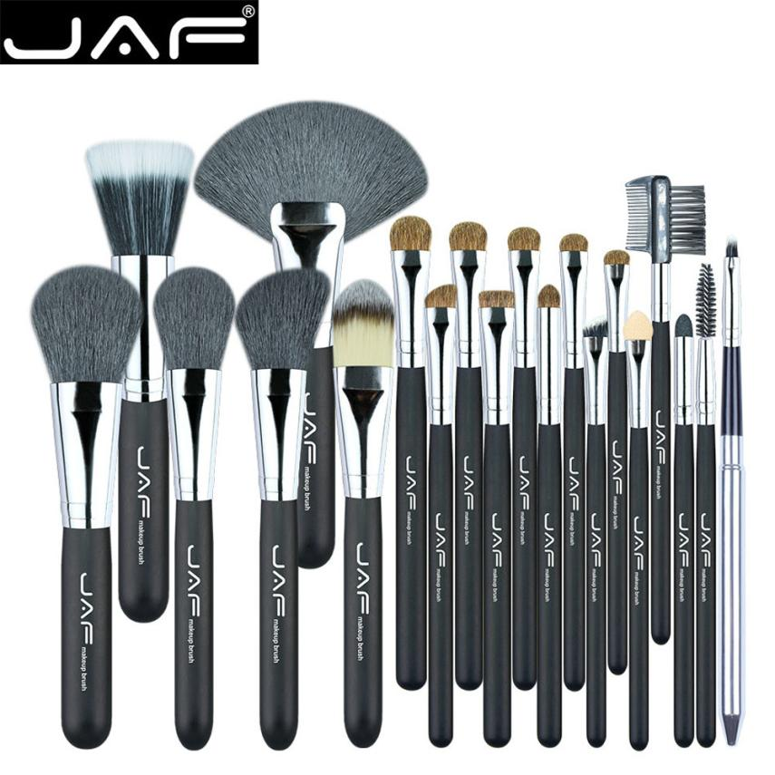 JAF 20 Pcs Beauty Makeup Brush Set Professional Pinceaux De Maquillage Powder Liquid Cream Cosmetics Blending