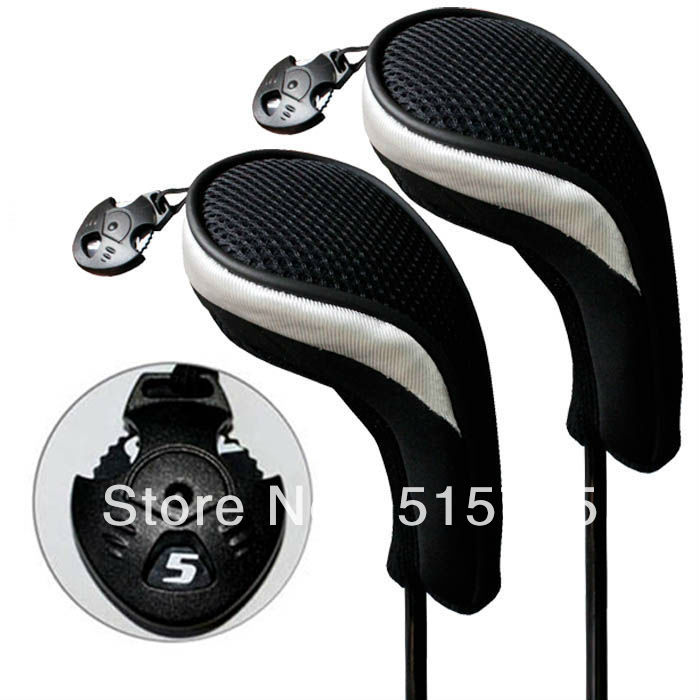 Golf Hybrid Club Head Covers Golf Headcover Golf Accessories with Interchangeable No Tag MT hy06