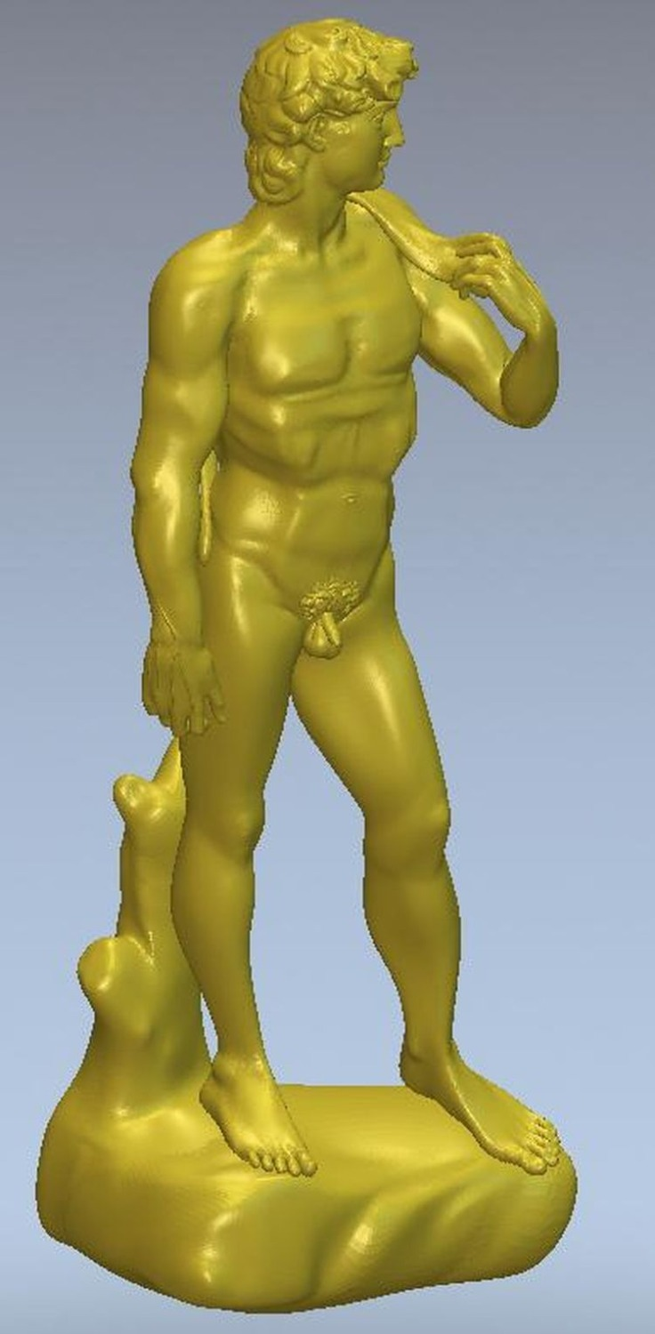 3d Model Relief  For Cnc Or 3D Printers In STL File Format Statue Of David