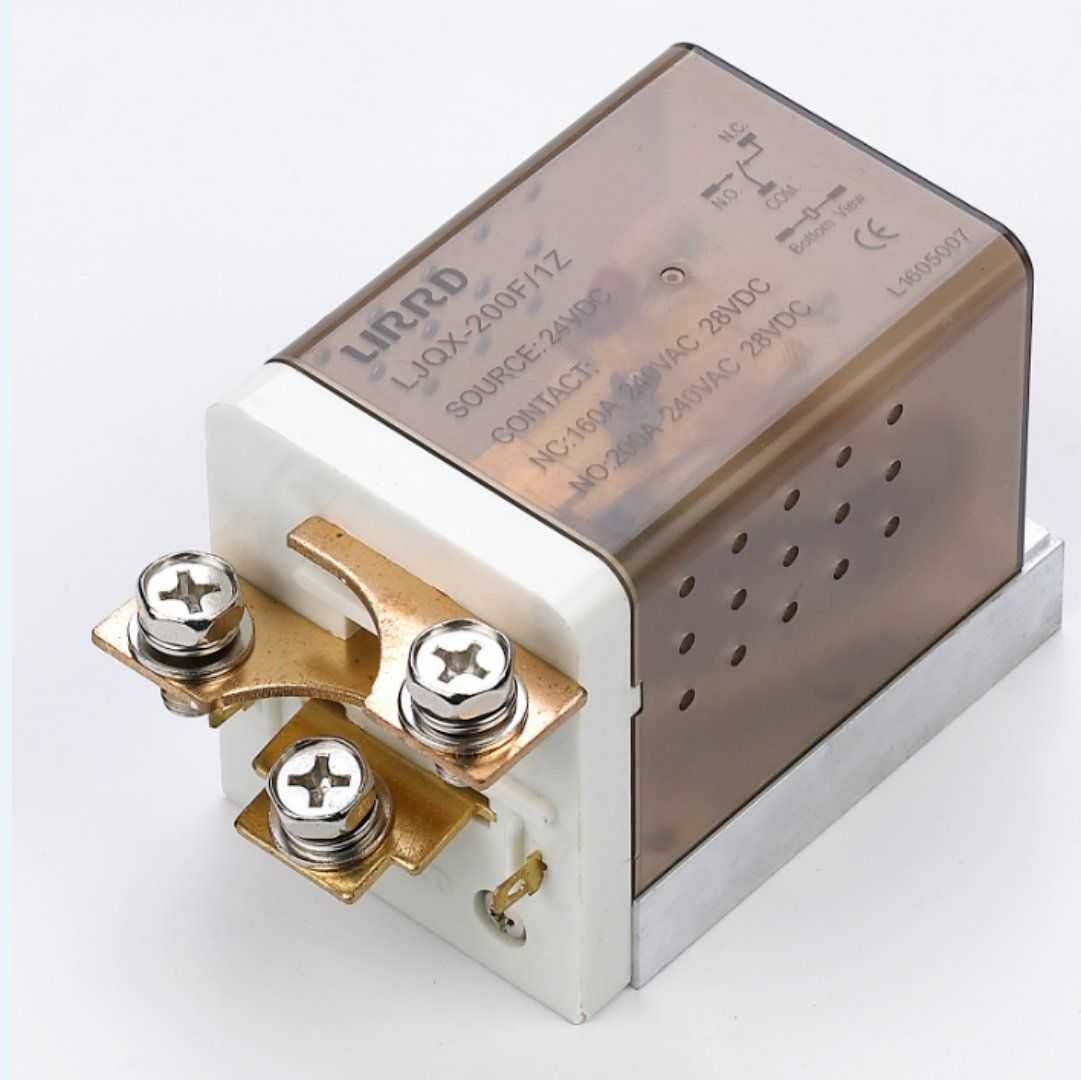 200A High Power Relay JQX-200F/1Z Large Current Relay 12V 24V free shipping elecall 10pcs lot jqx 15f 1z dc48v miniature electromagnetic relay no 30a nc 20a 240vdc 28vdc 48vdc power relay