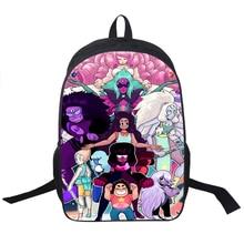 Cartoon Steven Universum Rucksack Für Jungen Mädchen Kinder Schultaschen Anime Schwerkraft Fällt Rucksack Kinder Schule Rucksäcke Geschenk Tasche
