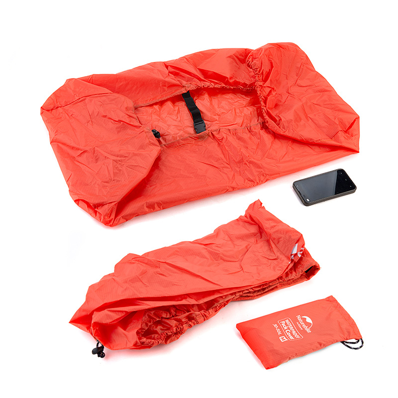 Naturehike Bag Cover 30-70L Backpack Rain Cover Outdoor Waterproof Mud Dust Cover Bag Covering Climbing Hiking Travel Kit Fit