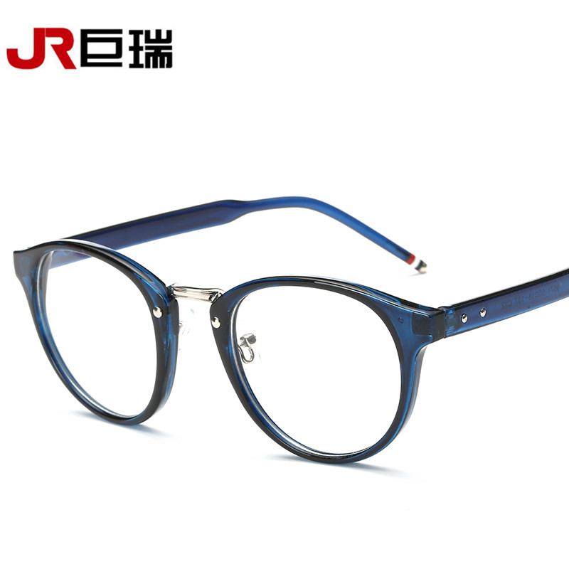 cheap fashion optical glasses frame glasses with clear glass men women brand round clear transparent womens glasses frames