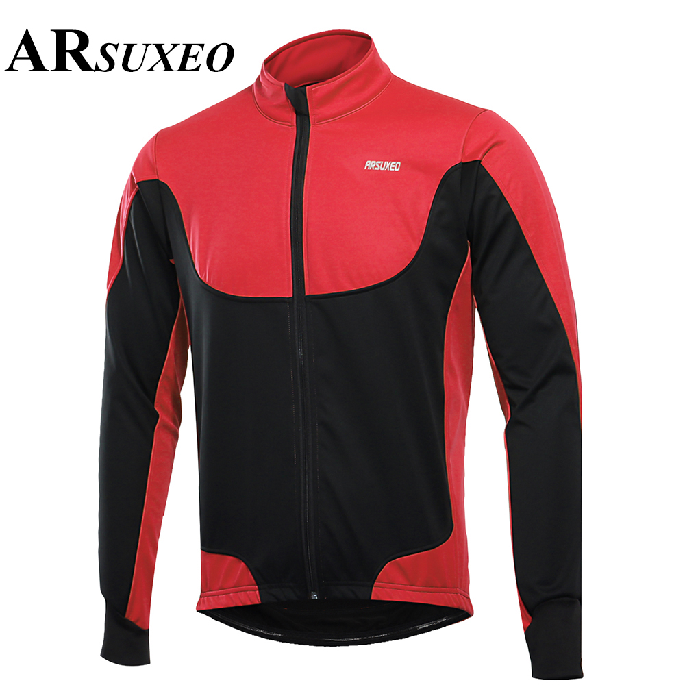 Outwear Cycling Jacket Sports Fitness ARSUXEO Men women Shirt Riding Useful