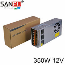 LED Power Supply 12V 350W LED Driver Power Adapter Switching 110V to 12V Transformer Standard PS for 5050 3528 Strip LED Tube(China)