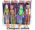 4 шт. новинка куклы / монстр игрушки куклы для девочек / высокое качество игрушка в подарок для детей / 31 см высота классические игрушки