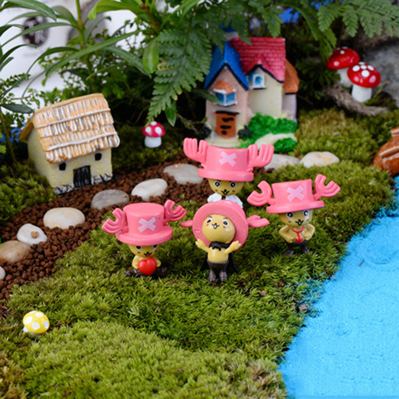 Aliexpresscom Buy 4pcs Tony Tony Chopper resin garden figurines